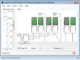 Download LogicCircuit – Software para desenvolvimento de projetos e simulação de circuitos lógicos digitais.