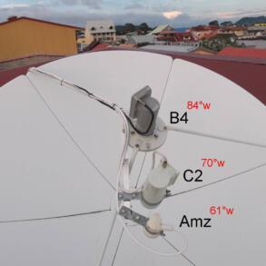 [Antena Parabólica] Kit carona o que é isto? Saiba como adicionar vários satélites em um única antena