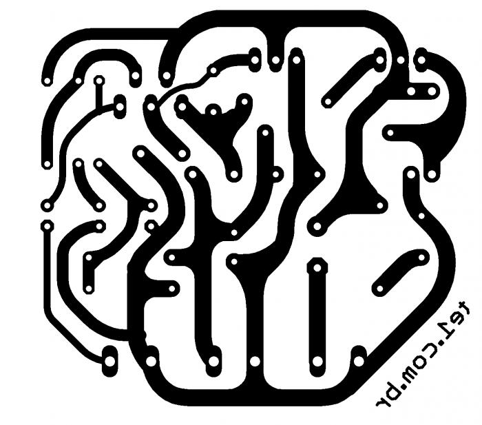 amplificador tda2030 transistor TIP4 TIP42 700x617 Amplificador potência TDA2030 + transistores TIP41 e TIP42 tda Circuitos Áudio
