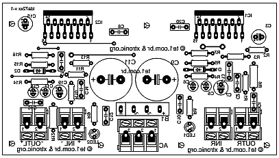 200 watt stereo amplifier 200 wiring diagram and circuit schematic