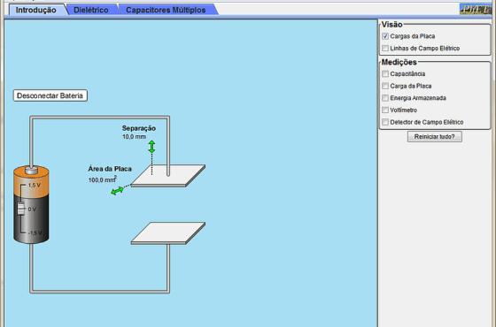 Laboratório de experimentos de eletrônica e física em JAVA  Simuladores de circuito Laboratório de experimentos de eletrônica e física em JAVA
