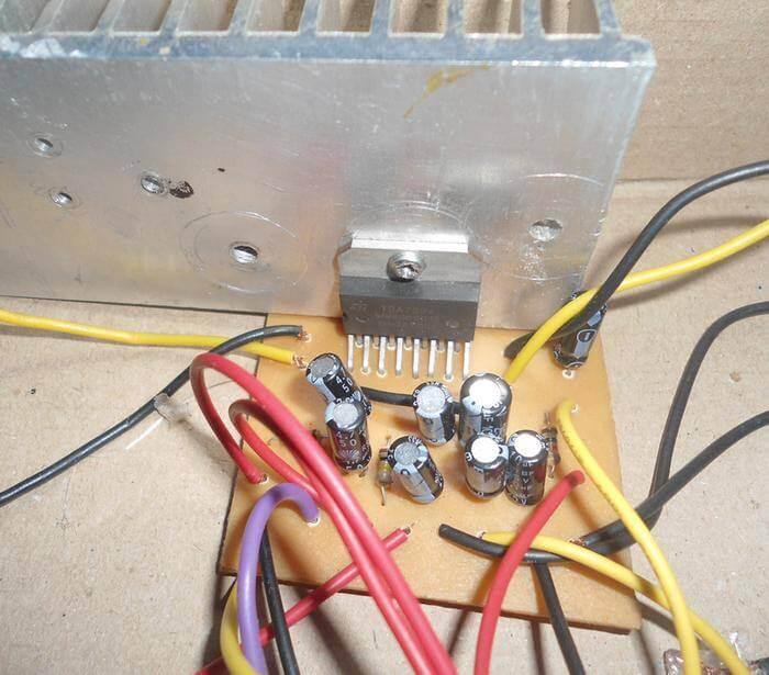 Amplificador 2 x 30w com TDA7394