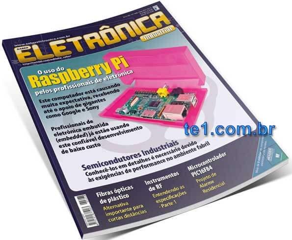 Download revista saber eletrônica 468 em PDF - O uso do Raspberry Pi pelos profissionais de eletrônica - Alarme residencial com PIC