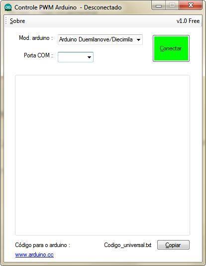 Software controlador de pwm Arduino