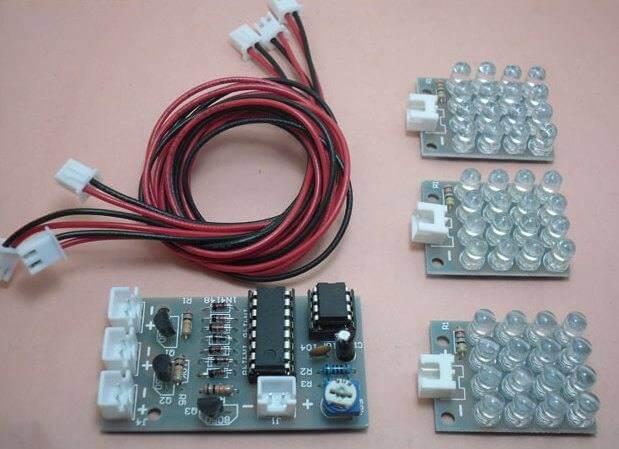 Placa-led-vermelha-estrobo-luz-estroboscopica-placa-montada