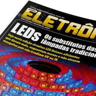 Download Revista Saber Eletrônica 470 Em Pdf – Led Driver Eficiente, Trabalhos Práticos Com Arduino