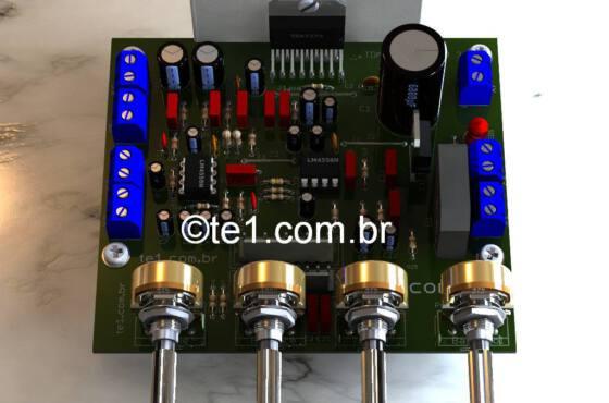 Amplificador potencia sta540 2