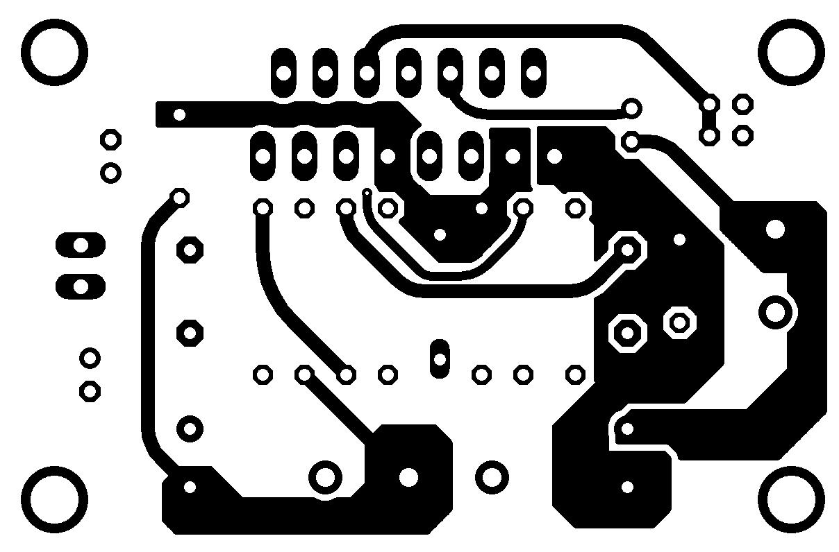 tda7293 minimus tda7294 amplificador placa Amplificador de potência com CI TDA7293 ou TDA7294   #Minimus Power tda7294 tda Circuitos Áudio