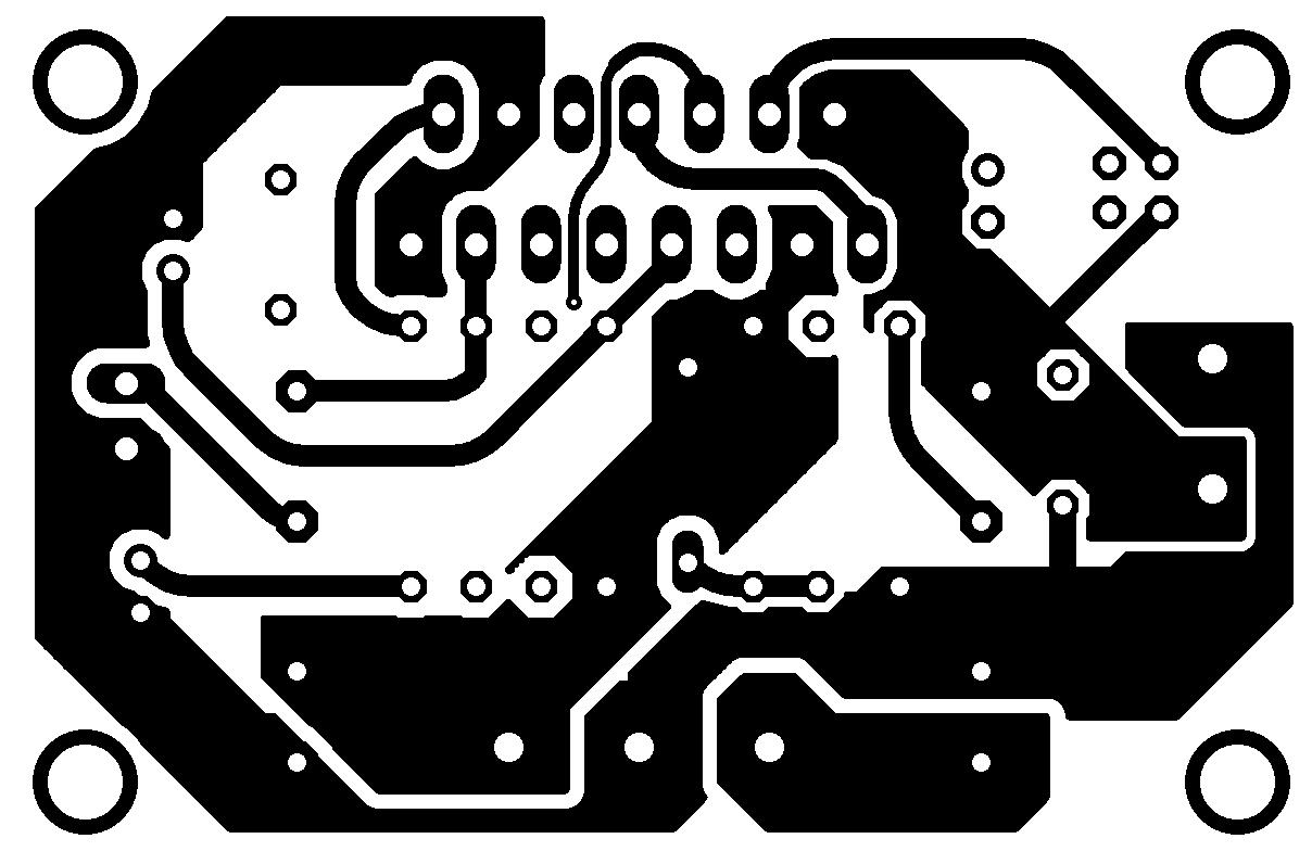 tda7293 minimus tda7294 amplificador potencia Amplificador de potência com CI TDA7293 ou TDA7294   #Minimus Power tda7294 tda Circuitos Áudio