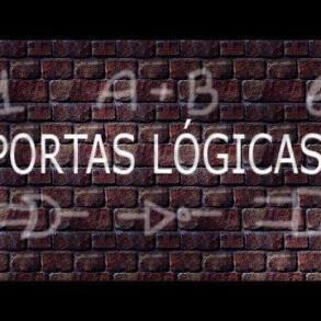 Vídeo aula: Portas lógicas – eletrônica digital