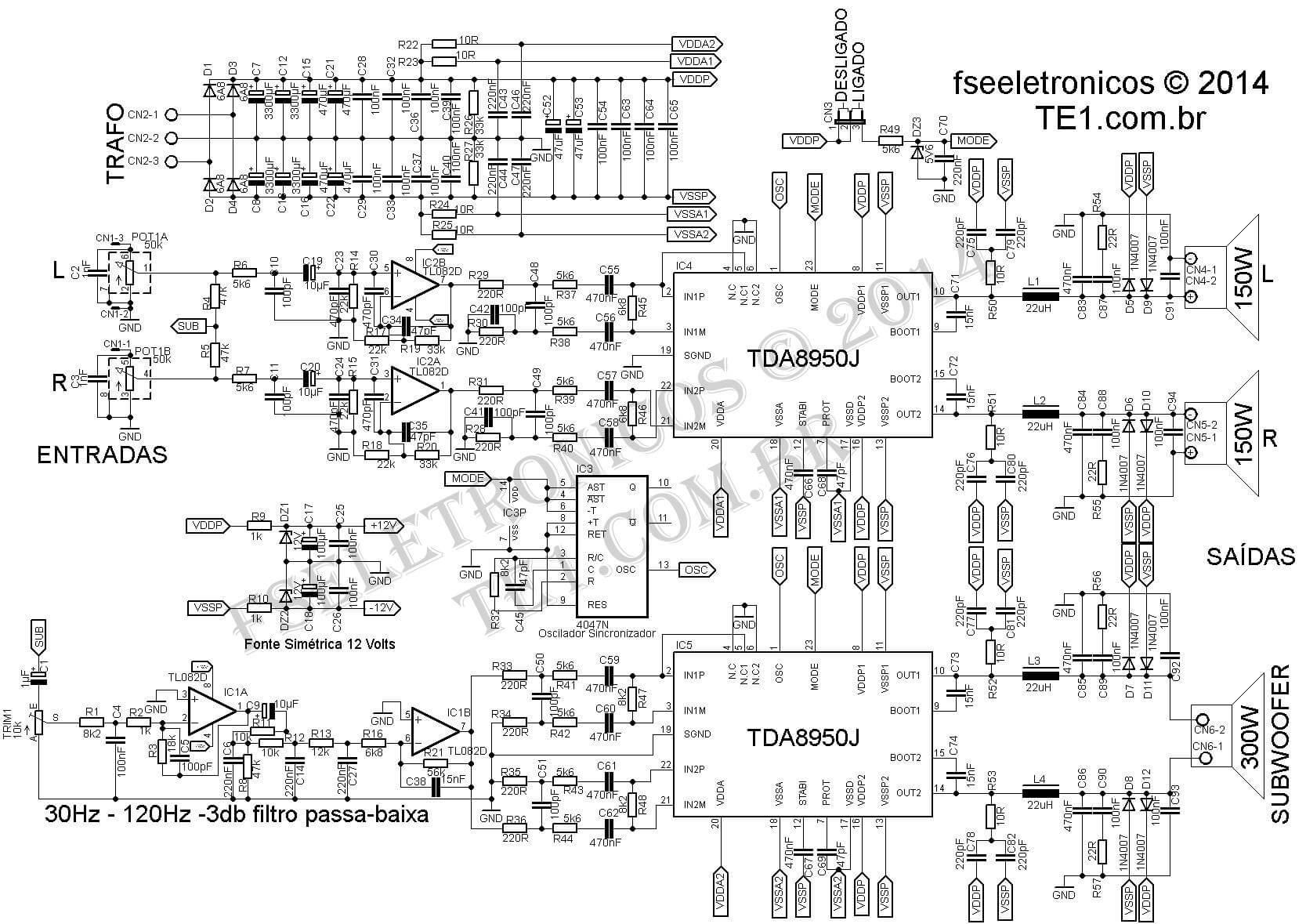 TDA8950J 2