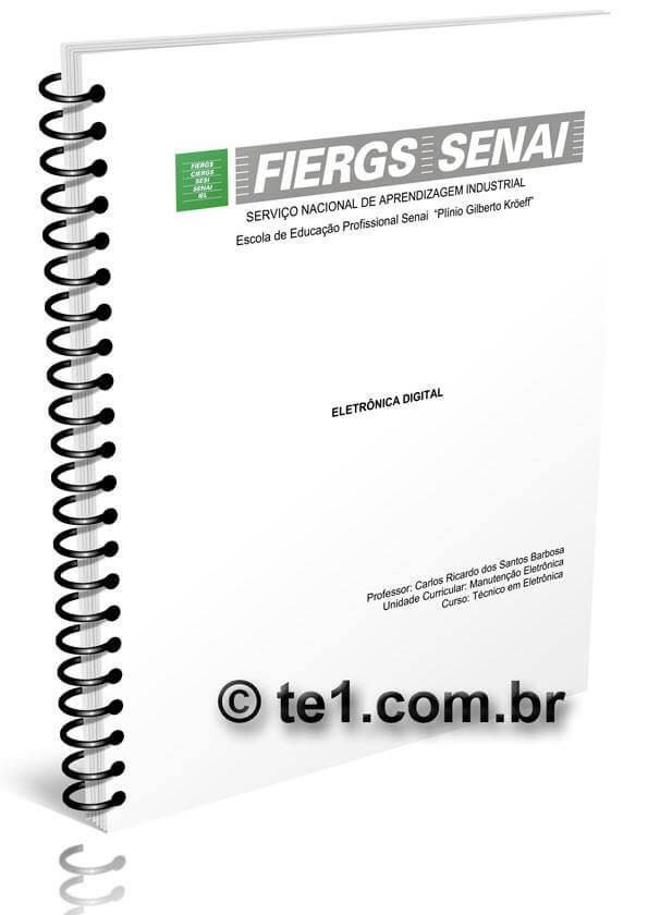 , Download Apostila completa de Eletrônica Digital em PDF Fiergs/Senai