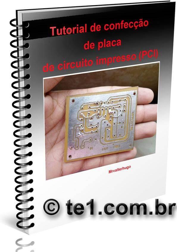, Curso confecção de placa de circuito impresso método térmico