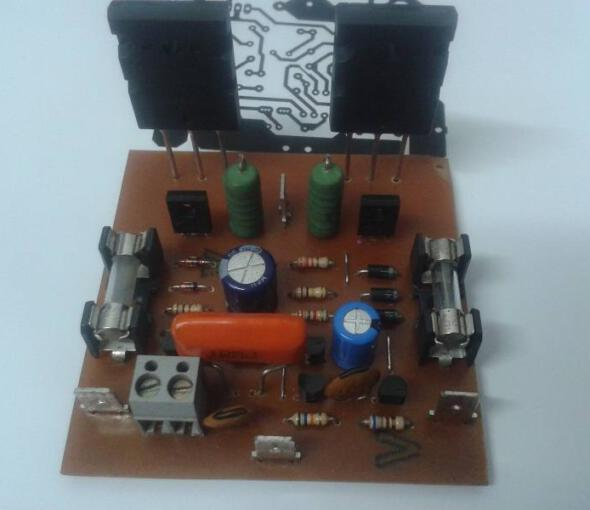 Mini Strong Power Amplifier – 100W RMS