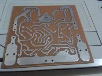 Mini-Strong-Power-Amp Mini Strong Power Amplifier Placa De Circuito Impresso