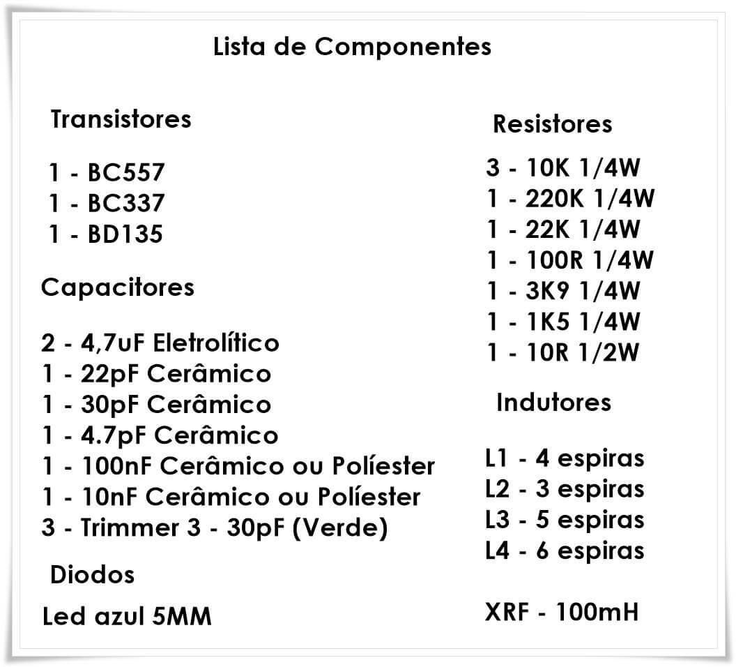 , Super Transmissor de Fm – 1 à 3W