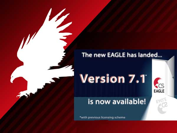 , Download software cad para PCB Cadsoft Eagle 7.5 – 32 e 34 bits
