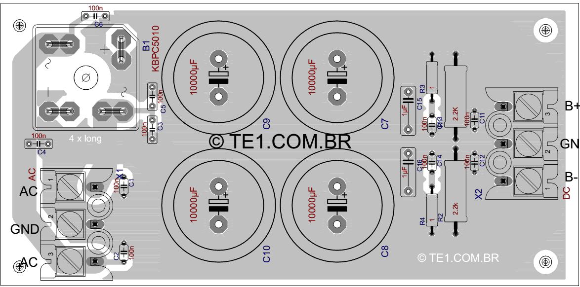 fonte-simetrica-amplificador-potencia-placa