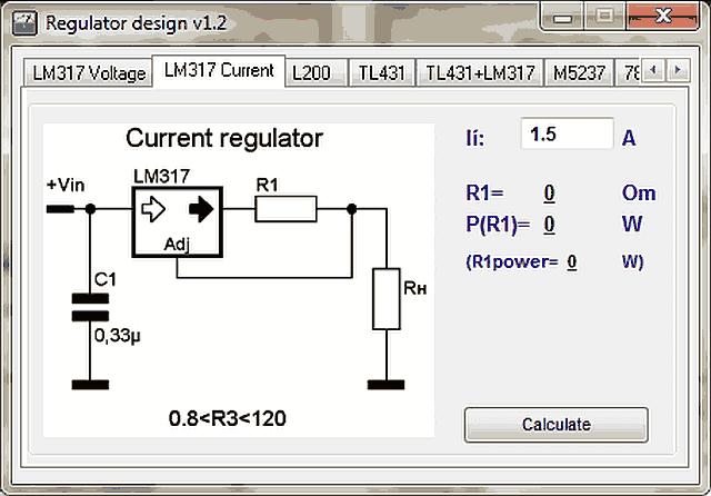 , Download Regulator Designer – Cálculos de reguladores de tensão