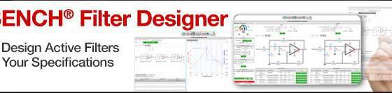 Webench filter designer  desenho de filtros download filterpro - projetos de filtros analógicos ativos