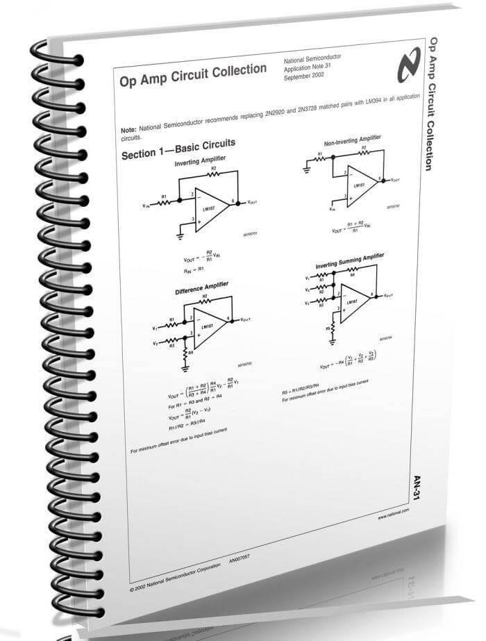 an31 texas opamp 700x923 Download Application Note 31   Coleção de circuitos de Op Amp Teste e medida Pré amplificadores pdf Fontes Download Dicas Datasheet Controle Circuitos Apostilas