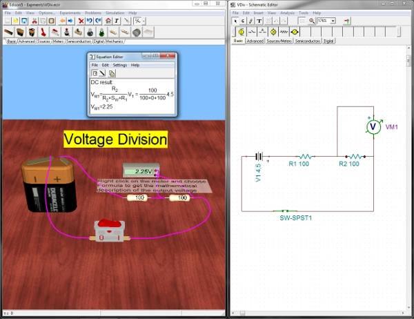 edison vdiv Download Edison 5 Laboratório Multimídia simulação eletrônica Virtuais Software de eletrônica Simulador Download Curso