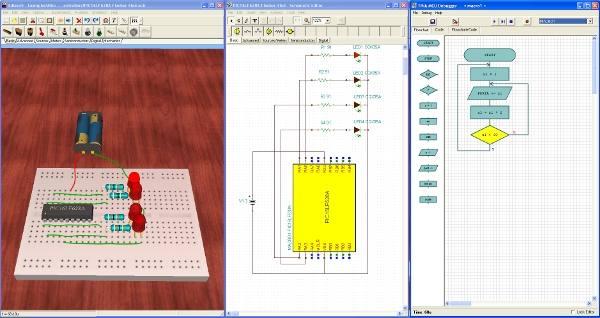 mcu Download Edison 5 Laboratório Multimídia simulação eletrônica Virtuais Software de eletrônica Simulador Download Curso