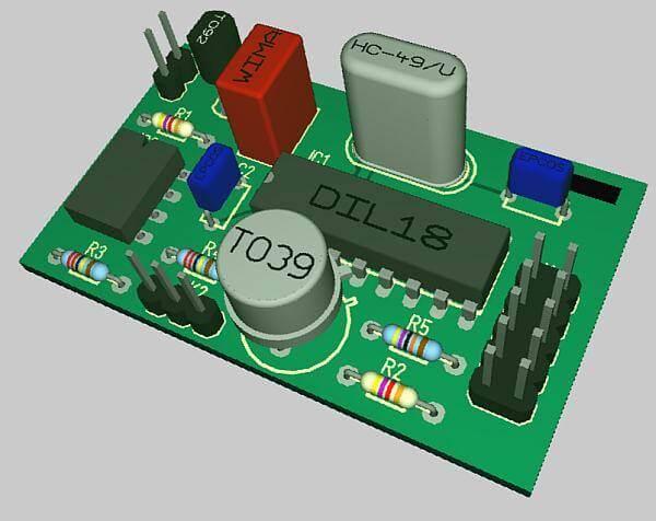 3d image Download Target 3001  CAD para desenho de PCI e simulação Simulador Multisim Download Desenho de esquemas Desenho circuito impresso