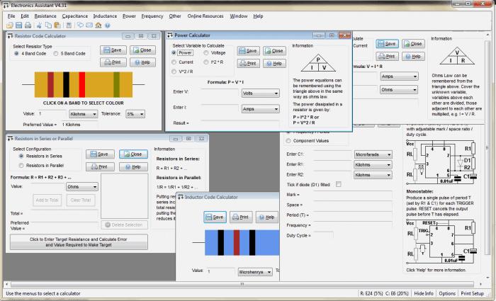 Electronics Assistant 700x425 Download Electronics Assistant V4.1   Calculadora para eletrônica Download Calculadoras