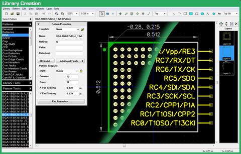 Library Creation diptrace Download DipTrace programa editor de PCI em português Download Desenho circuito impresso