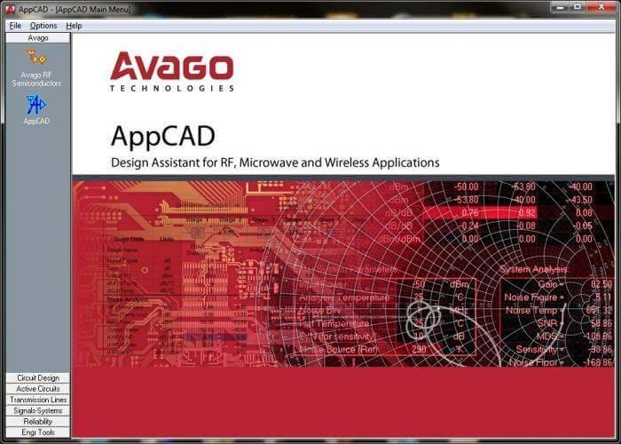 software Avago Appcad hp 700x500 Download Appcad   Software desenho e projeto de circuitos RF Download Desenho de filtros