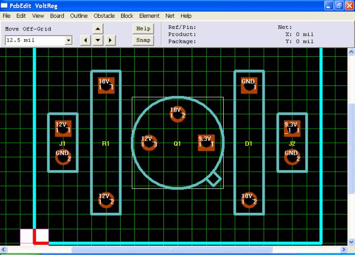 winqcad 700x502 Download WinQcad programa criação de placas de circuito impresso Download Desenho circuito impresso