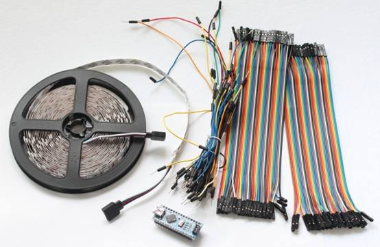 Scroll Bar de leds Como fazer um Scroll Bar de leds com Arduino Nano Tutoriais Microcontroladores led Iluminação Circuitos
