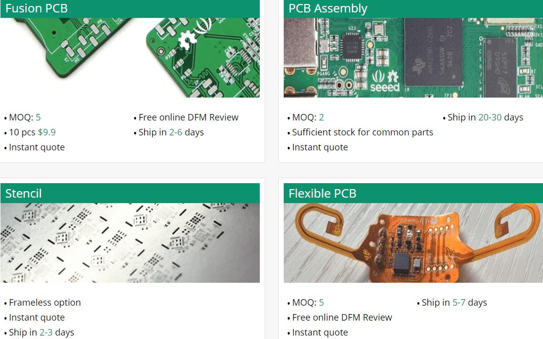 , Melhores fabricantes de protótipos de PCB (Placa de circuito impresso)