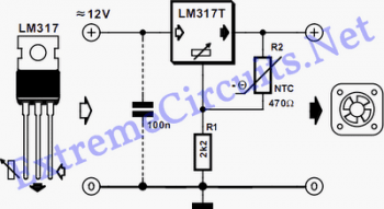 Esquema sensor 2   sensor de temperatura usando ntc – acionando ventoinhas
