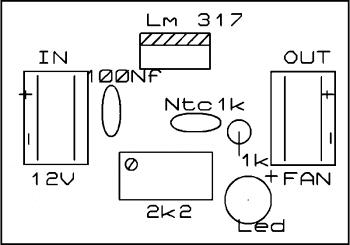 Placa silkscreen2   sensor de temperatura usando ntc – acionando ventoinhas