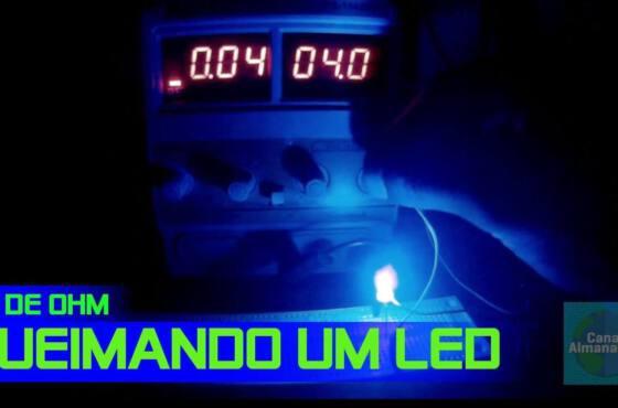 Maxresdefault 4  iluminação /led ligando um led sem o resistor