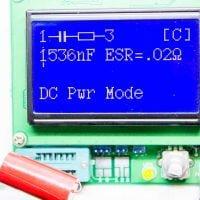 Medir E Testar Capacitor Eletrolítico, Esr, Capacitor, Resistor, Diodo, Mosfet Canal N E P, Indutor, Transistor Npn E Pnp, Put, Ujt, Tensão, Frequência (Frequencímetro), Gerador De Frequência, Gerador Sinal Pwm, P-Igbts, Jfet, Tiristor, Triac, Transistor Darlington, Diodos Duplos, Leds, Leds Duplo, Componentes Smd, Diodos Zener