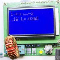 Lcr Transistor Tester Medindo Bobina Núcleo Toroidal De 22Μh