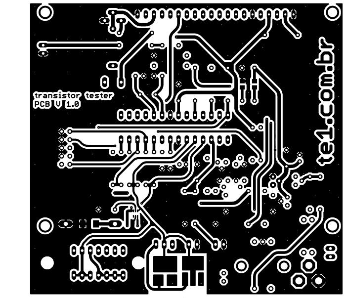 transistor tester mega328 mede esr capacitor resistor diodo mosfet indutor 3 transistor Atmega, capacitor, Circuitos, esr, led, microchip, mosfet, multímetro, Teste-e-medida, transistor, Tutoriais Transistor tester Mega328 mede ESR, capacitor, Mosfet
