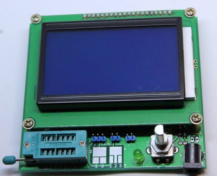 transistor tester mega328 mede esr capacitor resistor diodo mosfet indutor 4 700x567 Transistor tester Mega328 mede ESR, capacitor, Mosfet Tutoriais transistor Teste e medida multímetro mosfet microchip led esr Circuitos capacitor Atmega