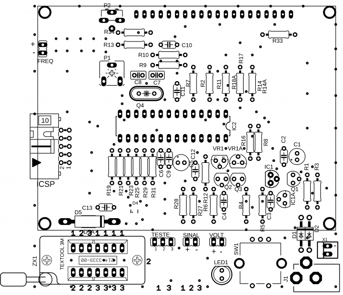 transistor tester mega328 mede esr capacitor resistor diodo mosfet indutor 4 transistor Atmega, capacitor, Circuitos, esr, led, microchip, mosfet, multímetro, Teste-e-medida, transistor, Tutoriais Transistor tester Mega328 mede ESR, capacitor, Mosfet