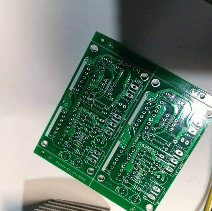 Minimus circuito de amplificador com ci tda7293 em paralelo 5 jlcpcb apostilas, download, eagle, eagle circuito impresso, jlcpcb, pcb, placa de circuito impresso, tutoriais como encomendar placa circuito impresso pela internet na jlcpcb e outros frabricantes