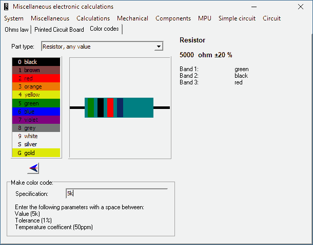 download-miscel-color-codes-capacitor-resistor-indutor-diodo