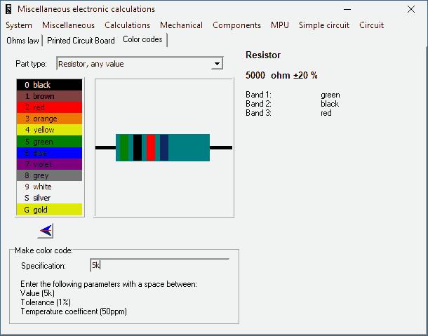 download-miscel-color-codes-capacitor-resistor-indutor-diodo