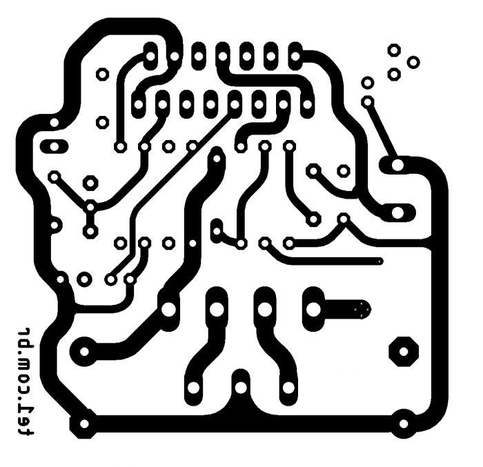 tda7293, #Minimus – Amplificador potência CI TDA7293 ou TDA7294 com fonte