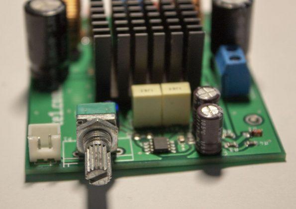 , Circuito amplificador potência áudio CI TPA3116D2 Classe D