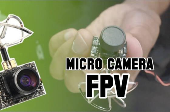 micro camera para fpv em aeromodelo e drones aeromodelo Vídeos Micro câmera para FPV em aeromodelo e drones