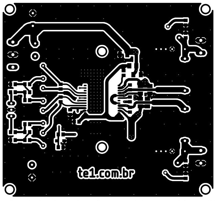 circuito amplificador ci tda8954 classe d 2x 210w 2 amplificador TDA8954 Amplificador, amplificador de áudio, amplificador de potência, Áudio, Circuitos, Classe D, tda, tda8954, TDA8954TH Circuito amplificador CI TDA8954TH Classe D 2x 210W