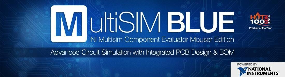 Download Multisim Blue 14 Grátis - Esquema, simulador e PCB